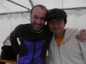 with Hiroshi W@東大
